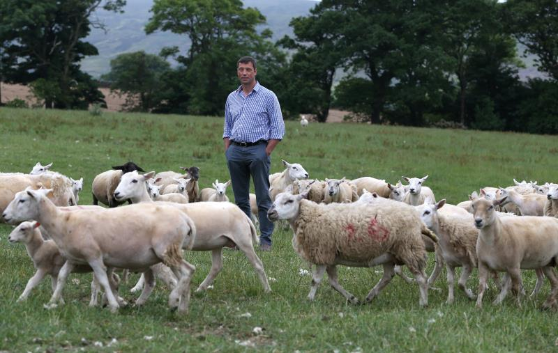 Richard Findlay, livestock farmer from North Yorkshire