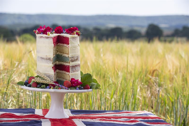 Miranda Gore Browne's Back British Farming cake