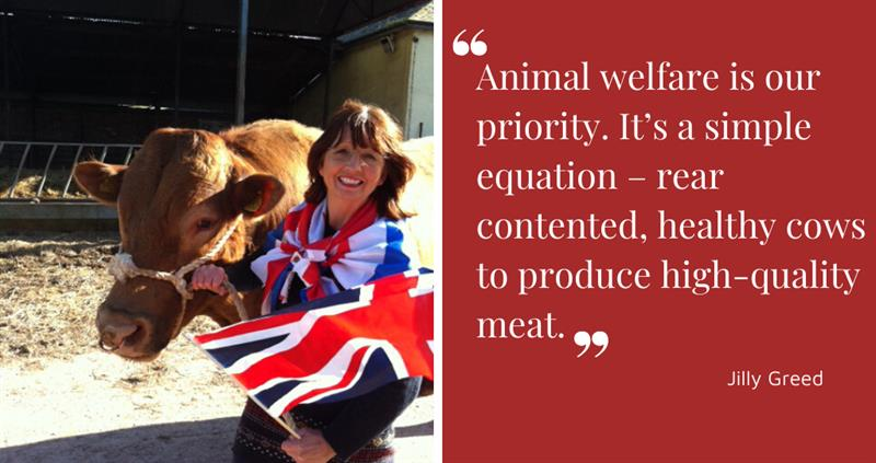 Jilly Greed proudly champions animal welfare
