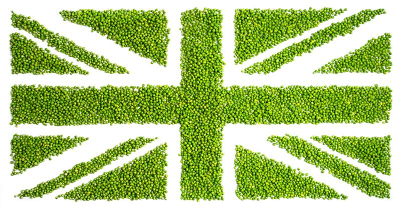 Celebrate the great British pea