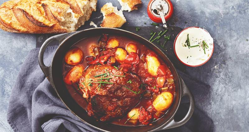 Beef goulash pot roast